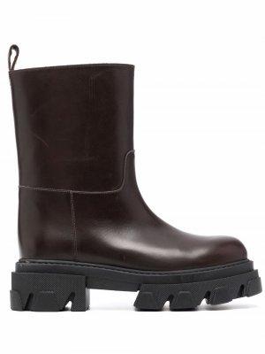 Ботинки Stivale Kobashoe P.A.R.O.S.H.. Цвет: коричневый