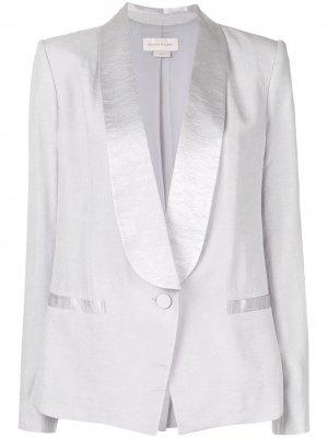 Пиджак-смокинг Vista Karen Walker. Цвет: серый