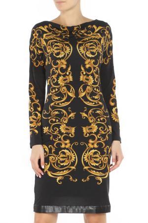 Платье Angelo Marani. Цвет: черный