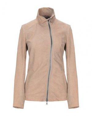 Куртка 10SEI0OTTO. Цвет: бежевый