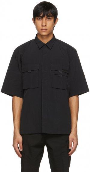 Black Ermilio Short Sleeve Shirt Hugo. Цвет: 1 black