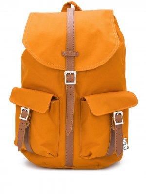 Рюкзак с кулиской и пряжками Herschel Supply Co.. Цвет: оранжевый