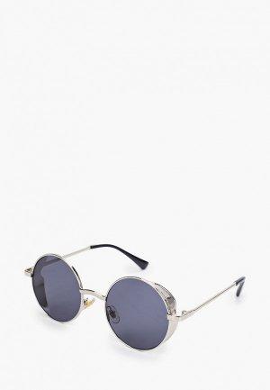 Очки солнцезащитные Vitacci. Цвет: серебряный