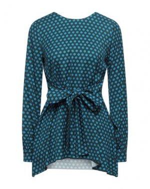 Блузка BEATRICE. Цвет: цвет морской волны