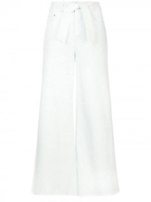 Широкие джинсы Zimmermann. Цвет: синий