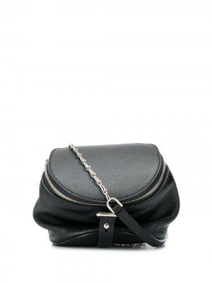 Маленькая сумка через плечо Harryet Bally. Цвет: черный