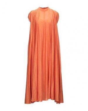 Длинное платье ATTIC AND BARN. Цвет: оранжевый