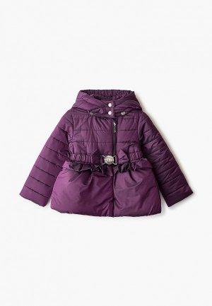 Куртка утепленная Alessandro Borelli Milano. Цвет: фиолетовый