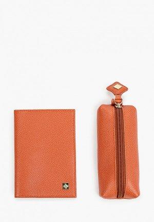 Комплект Dimanche. Цвет: оранжевый