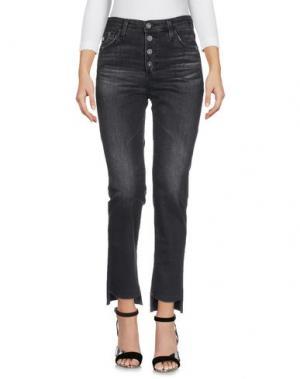 Джинсовые брюки AG JEANS. Цвет: черный