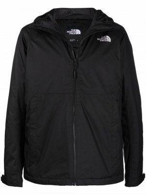 Непромокаемая куртка Miller с капюшоном The North Face. Цвет: черный