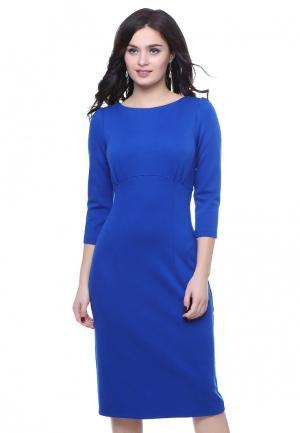 Платье Grey Cat LAYLA. Цвет: синий