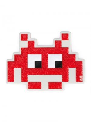 Стикер Space Invaders Anya Hindmarch. Цвет: красный