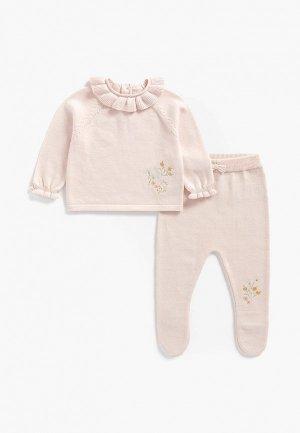 Комплект детский Mothercare. Цвет: розовый