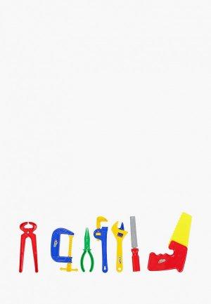 Набор игровой Играем Вместе Грузовичок Лёва, инструментов. Цвет: разноцветный