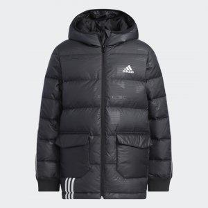 Утепленная куртка Sportswear adidas. Цвет: черный