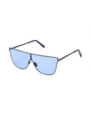 Солнечные очки SUPER by RETROSUPERFUTURE. Цвет: синий