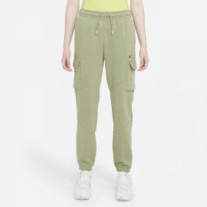 Женские брюки карго для танцев Sportswear - Зеленый Nike