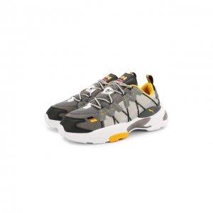 Комбинированные кроссовки x Helly Hansen LQD Cell Puma. Цвет: серый