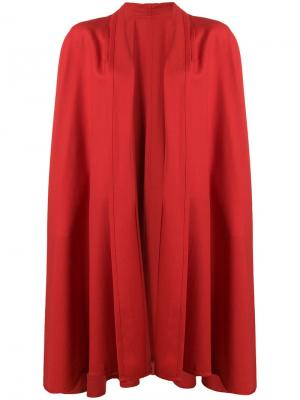 Пальто без застежек Roberta di Camerino Pre-Owned. Цвет: красный