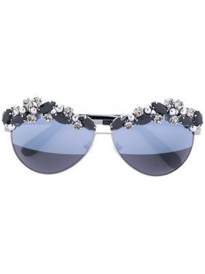 Солнцезащитные очки Sunshine Philipp Plein. Цвет: золотистый