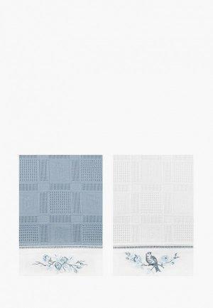 Набор полотенец кухонных Bellehome Blue Sky, 40х70 см