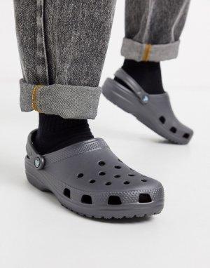 Серые сандалии -Серый Crocs