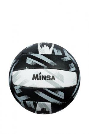 Мяч Minsa. Цвет: черный