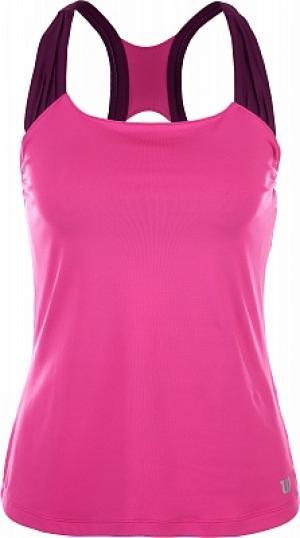 Майка женская Core Classic, размер 44-46 Wilson. Цвет: розовый