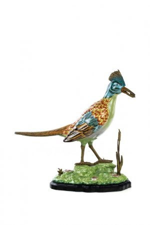 Фигурка Птица с добычей ГЛАСАР. Цвет: зеленый, голубой