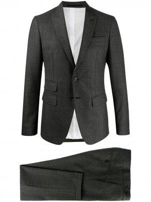 Строгий костюм-двойка Dsquared2. Цвет: серый