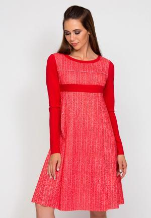 Платье D.VA. Цвет: красный