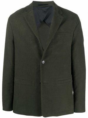 Однобортный пиджак Alec Filippa K. Цвет: зеленый