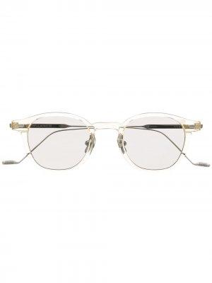 Солнцезащитные очки Eddy C2 в квадратной оправе Gentle Monster. Цвет: нейтральные цвета