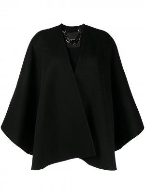 Куртка-кейп оверсайз Ermanno Scervino. Цвет: черный