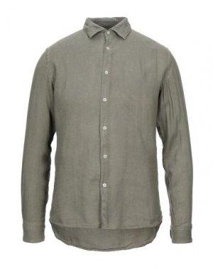 Pубашка ALTEA. Цвет: зеленый-милитари