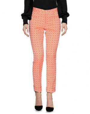 Повседневные брюки PT Torino. Цвет: оранжевый