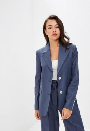 Пиджак Mango - LINUS. Цвет: синий