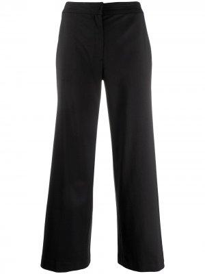 Укороченные брюки широкого кроя Christian Dior. Цвет: черный