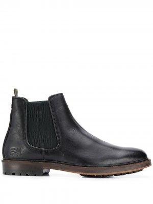 Ботинки челси Barbour. Цвет: черный