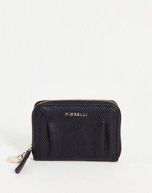 Черный кошелек Erika-Черный цвет Fiorelli