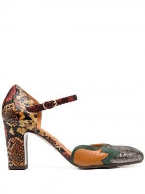 Туфли Luce со вставками Chie Mihara. Цвет: серебристый