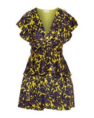 Короткое платье A.L.C.. Цвет: желтый