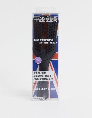 Черная щетка для волос с отверстиями Easy Dry & Go-Бесцветный Tangle Teezer