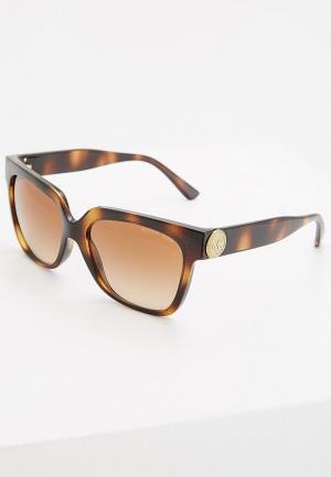 Очки солнцезащитные Michael Kors MK2054 328513. Цвет: коричневый