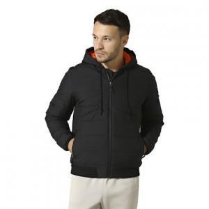 Утепленная стеганая куртка Outdoor Reebok. Цвет: black