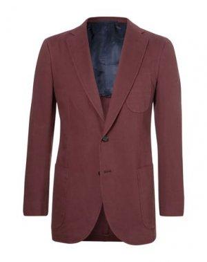 Пиджак P.JOHNSON. Цвет: красно-коричневый