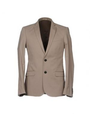 Пиджак BILLTORNADE. Цвет: серый