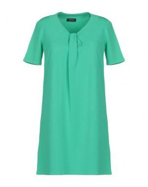 Короткое платье ANNECLAIRE. Цвет: зеленый