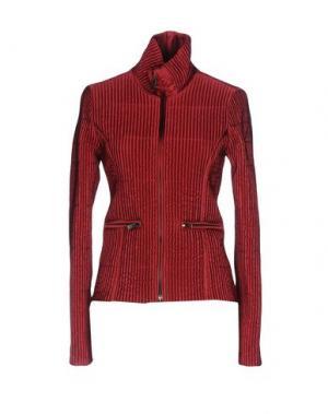 Куртка HOGAN. Цвет: красно-коричневый
